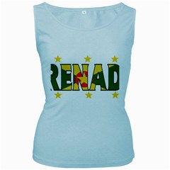 Grenada Womens  Tank Top (Baby Blue)