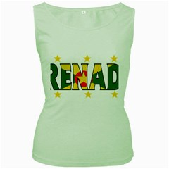 Grenada Womens  Tank Top (Green)