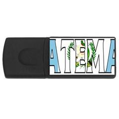 Guatemala 1GB USB Flash Drive (Rectangle)