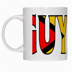 Guyana White Coffee Mug