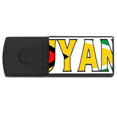 Guyana 2GB USB Flash Drive (Rectangle)