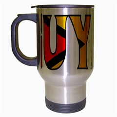 Guyana Travel Mug (silver Gray)