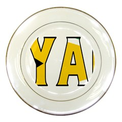 Guyana Porcelain Display Plate