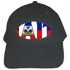 Haiti2 Black Baseball Cap