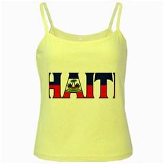 Haiti2 Yellow Spaghetti Tank