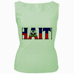 Haiti2 Womens  Tank Top (green)