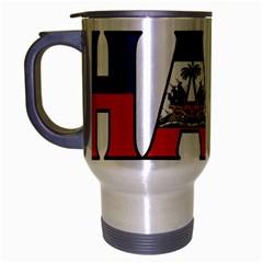 Haiti2 Travel Mug (silver Gray)