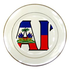 Haiti2 Porcelain Display Plate