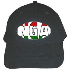 Hungary 3 Black Baseball Cap
