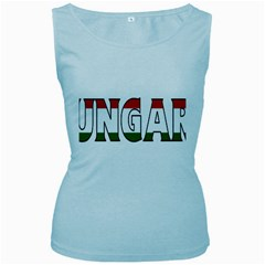 Hungary 3 Womens  Tank Top (Baby Blue)