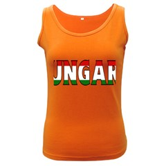 Hungary 3 Womens  Tank Top (dark Colored)