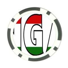 Hungary 3 Poker Chip