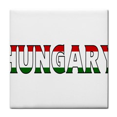 Hungary 3 Face Towel