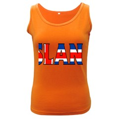 Iceland Womens  Tank Top (dark Colored)