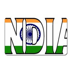 India Magnet (Rectangular)