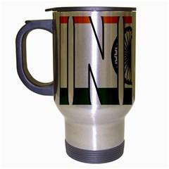 India Travel Mug (Silver Gray)