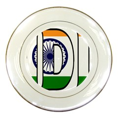India Porcelain Display Plate