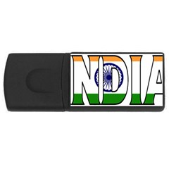India 4GB USB Flash Drive (Rectangle)