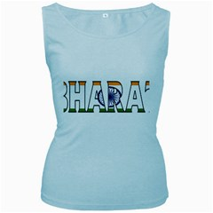 India2 Womens  Tank Top (Baby Blue)