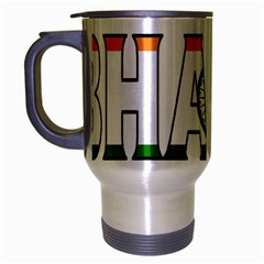 India2 Travel Mug (Silver Gray)