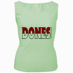 Indonesia Womens  Tank Top (Green)