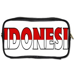 Indonesia Travel Toiletry Bag (One Side)