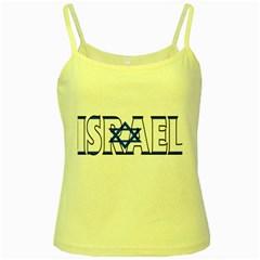 Israel2 Yellow Spaghetti Tank
