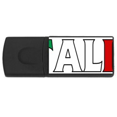 Italy 2GB USB Flash Drive (Rectangle)