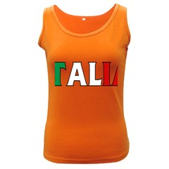 Italy Womens  Tank Top (Dark Colored)
