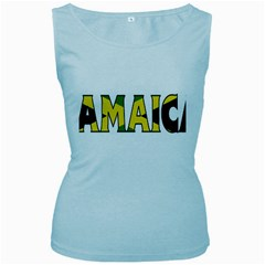 Jamaica Womens  Tank Top (Baby Blue)
