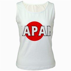 Japan Womens  Tank Top (white)