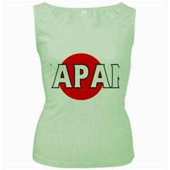 Japan Womens  Tank Top (Green)