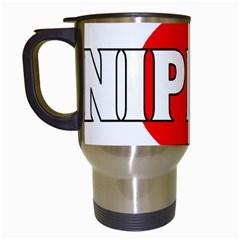 Japan(nippon) Travel Mug (White)