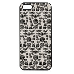 Vintage Bats Apple iPhone 5 Seamless Case (Black)