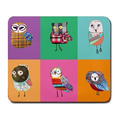 Hipster s Mousepad Large Mouse Pad (rectangle)