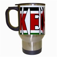 Kenya Travel Mug (white)