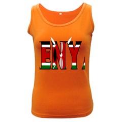 Kenya Womens  Tank Top (dark Colored)
