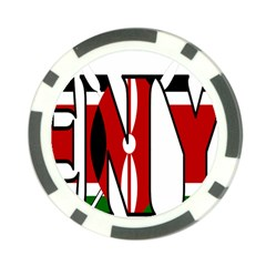 Kenya Poker Chip