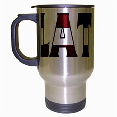 Latvia Travel Mug (silver Gray)