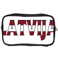 Latvia Travel Toiletry Bag (one Side)