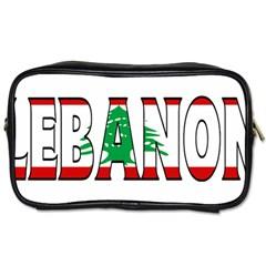 Lebanon Travel Toiletry Bag (One Side)