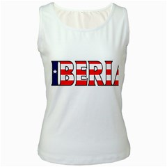 Liberia Womens  Tank Top (White)