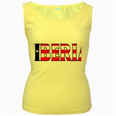 Liberia Womens  Tank Top (Yellow)