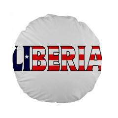 Liberia 15  Premium Round Cushion
