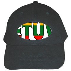 Lithuania Black Baseball Cap