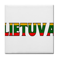 Lithuania Face Towel