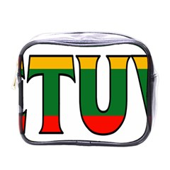 Lithuania Mini Travel Toiletry Bag (one Side)
