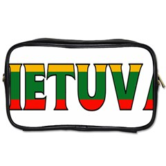Lithuania Travel Toiletry Bag (One Side)