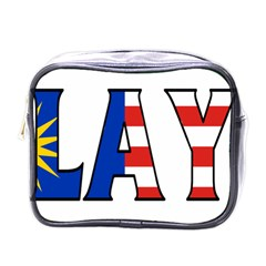 Malaysia Mini Travel Toiletry Bag (One Side)