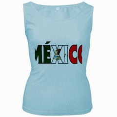 Mexico (n) Womens  Tank Top (Baby Blue)